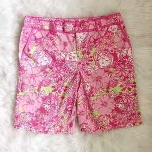 Lilly Pulitzer Palm Beach Fit Bermuda Shorts Pink